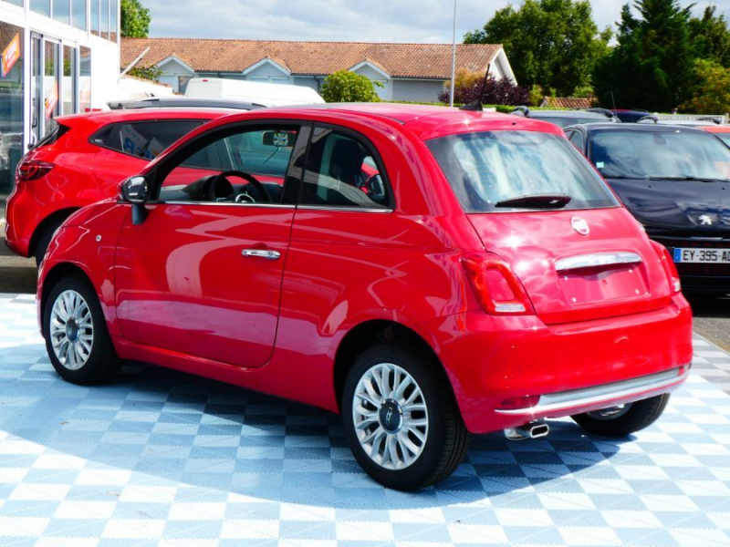 Photo 3 de l'offre de FIAT 500 1.2 69 PACK LOUNGE GPS TOIT Pano (7 Options) à 12850€ chez Mérignac auto