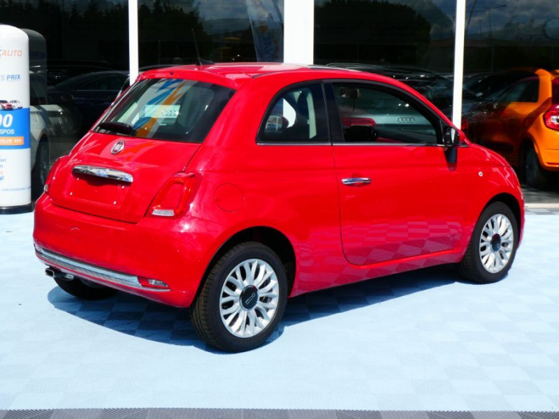 Photo 4 de l'offre de FIAT 500 1.2 69 PACK LOUNGE GPS TOIT Pano (7 Options) à 12850€ chez Mérignac auto