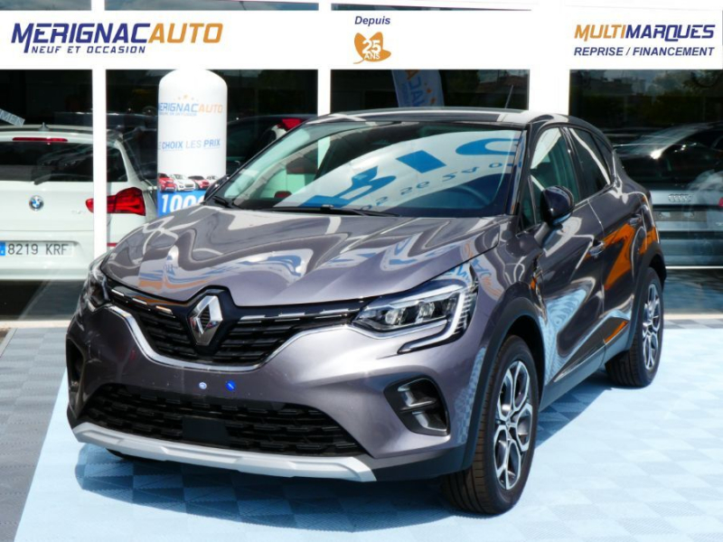 Photo 1 de l'offre de RENAULT CAPTUR II TCe 100 INTENS Full LED JA18 à 20750€ chez Mérignac auto