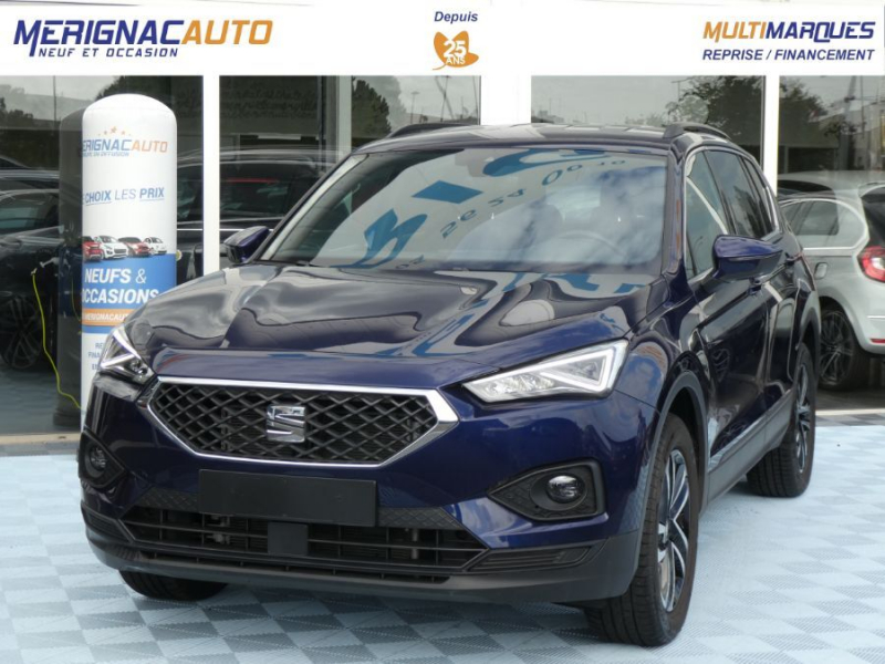 Seat TARRACO 2.0 TDI 150 BV6 2WD BUSINESS Full LED JA18 Coffre 760L DIESEL BLEU ATLANTIQUE METAL Occasion à vendre
