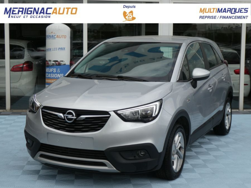 Opel CROSSLAND X 1.5 Turbo D 120 BVA6 INNOVATION Mirror Link DIESEL GRIS SILVER Occasion à vendre