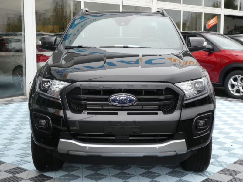 Photo 2 de l'offre de FORD RANGER SUPER CAB 2.0 TDCI 213 BVA10 4WD WILDTRAK Cover Pack Tech. à 39450€ chez Mérignac auto