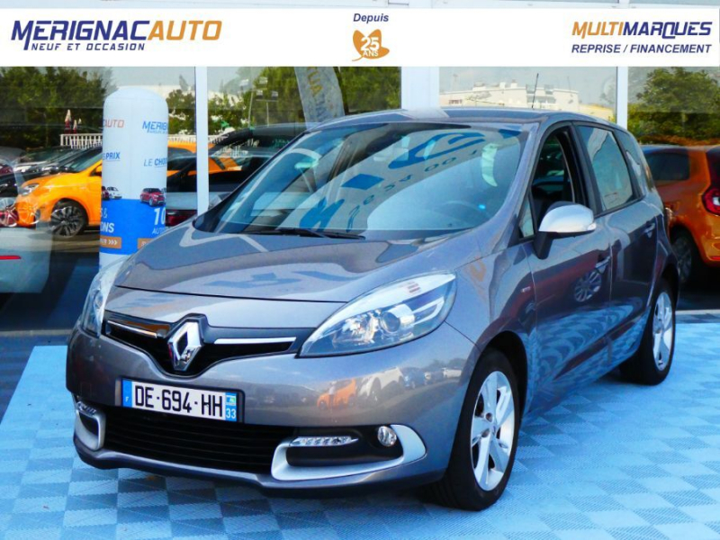 Renault SCENIC 1.2 TCE 115 BV6 LIMITED GPS 1ère Main ESSENCE GRIS CASSIOPEE Occasion à vendre