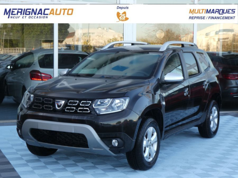 Dacia DUSTER TCe 130 BV6 4X2 PACK LOOK GPS Camera (7 Options) ESSENCE NOIR MÉTAL Neuf à vendre
