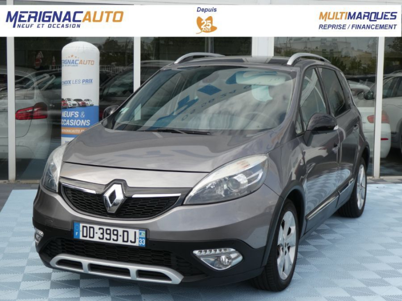 Renault SCENIC XMOD 1.5 DCI 110 EDC BOSE Toit Pano Camera DIESEL GRIS CASSIOPEE Occasion à vendre